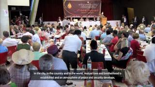 Hazrat Mirza Masroor Ahmad inaugurates Al-Mahdi Mosque