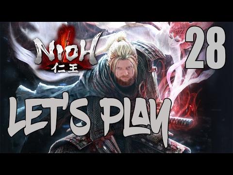 Nioh - Let's Play Part 28: Spider Nest Castle