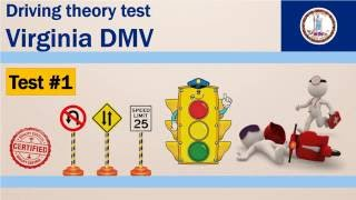 Driving theory test: Virginia DMV Permit Practice Test #1