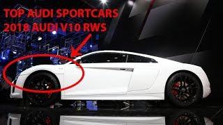 2018 Audi R8 V10 RWS Specs Detail