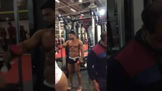 Nadeem malik workout in expo