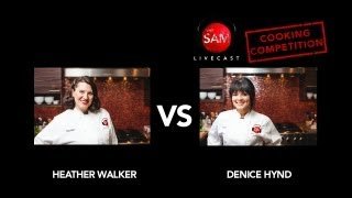 Ep186 - Cooking Competition. Heather vs. Denice