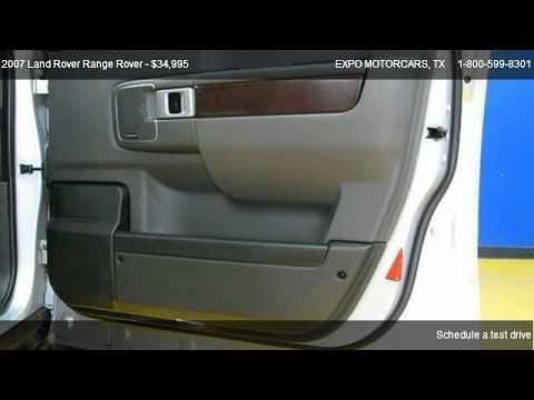 Land Rover Range Rover Hse Expo Motorcars Youtube