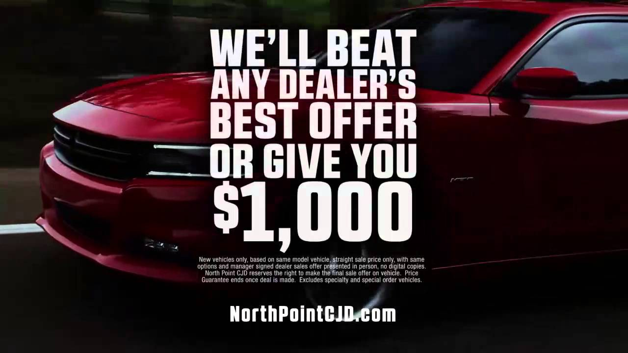 North Point Chrysler Jeep Dodge Ram  No Need Spring Clear
