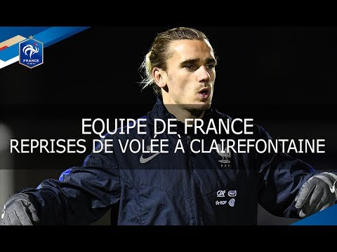 Equipe de France : Reprises de volée et parades, reportage I FFF 2017