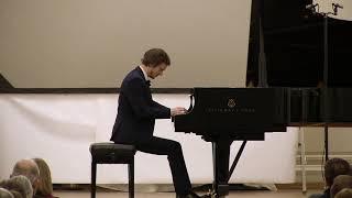 Ravel: Gaspard de la nuit (Ondine - Le Gibet - Scarbo). Alexander Lubyantsev