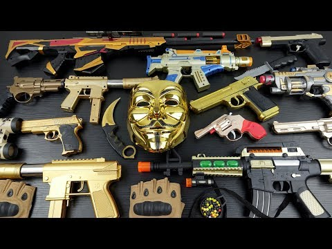 Toy Gold Weapons