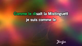 Karaoké Comme disait Mistinguett - Dalida *