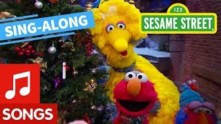 Sesame Street: Holiday Lights Lyric Video | Elmo's Sing Along Series