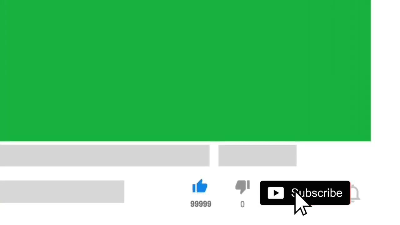 EN İYİ 15 Abone Ol ve Beğen Butonu Green Screen  ÖZEL SES EFEKTLİ
