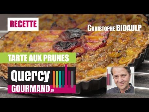 Recette : Tarte aux prunes – quercygourmand.tv