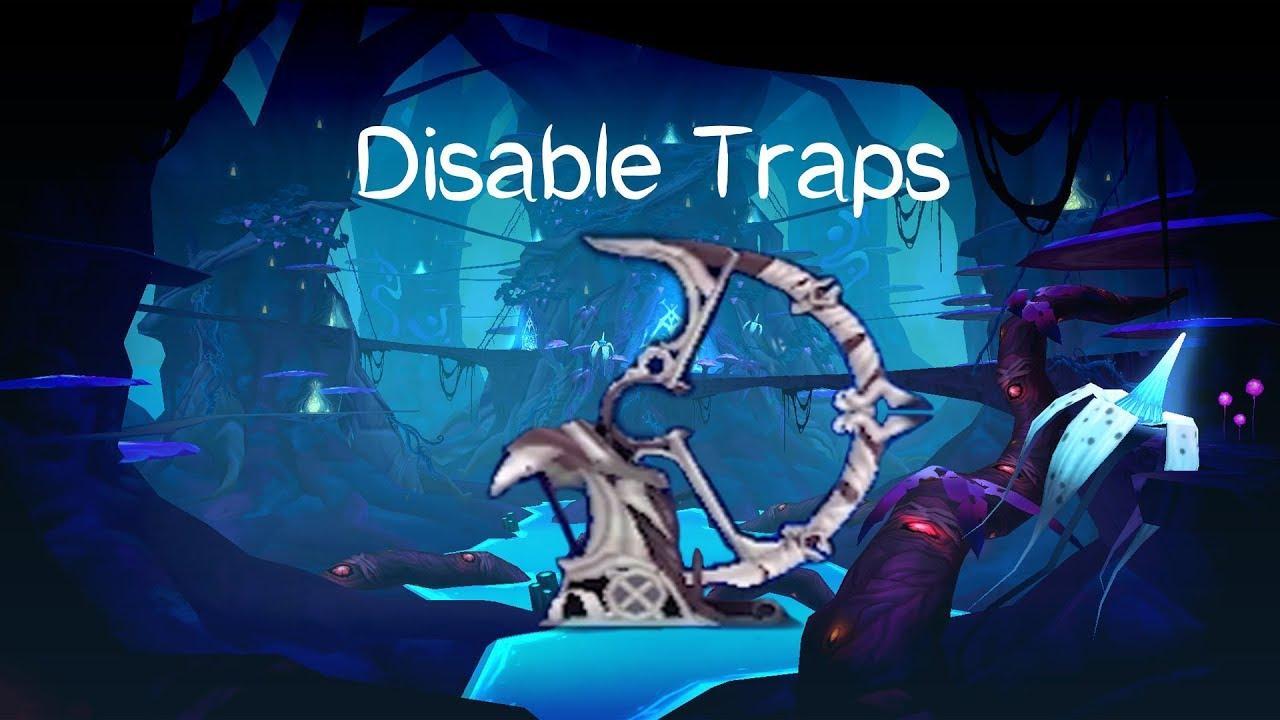 Elsword | How to disable trap in 1 hit | Dark Elves' Outpost | Varnimyr