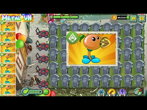 Download PVZ 2 Pinata Party 6/6/2021 | MetalVN | Team Plants vs Zombies 2 Max Level Power Up Version 8.9.1