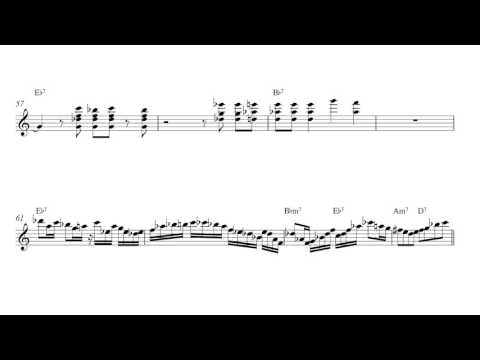 Scott Henderson Fee Fi Fo Fum Guitar Solo Transcription