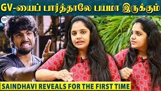 Neither I nor GV Celebrate Wedding Anniversary – Saindhavi Emotional | LittleTalks