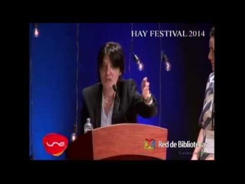 Beatriz Preciado y Marianne Ponsford   Hay Festival 2014