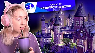 a group of simmers turned the sims 4 into a harry potter save file...need i say more