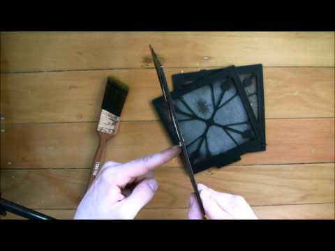 Cleaning PC Dust Filters - Quickly and Easily