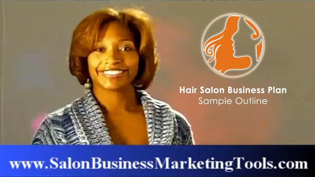 hair salon business plan sample