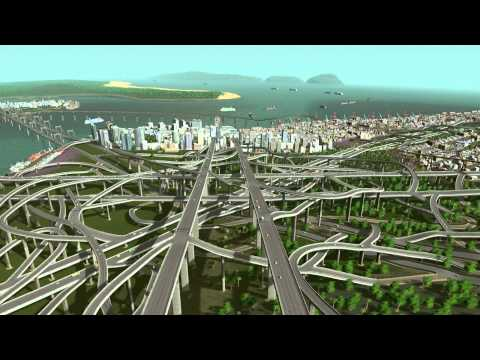 skylines how to build highways