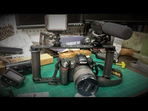 DIY DSLR Camera Rig, Cage Bracket Build