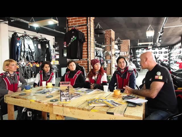 Kadın Motosiklet Sürücüleri Derneği ile Motosiklet Muhabbetleri