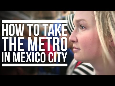 TAKING THE TRAIN IN MEXICO CITY | Eileen Aldis