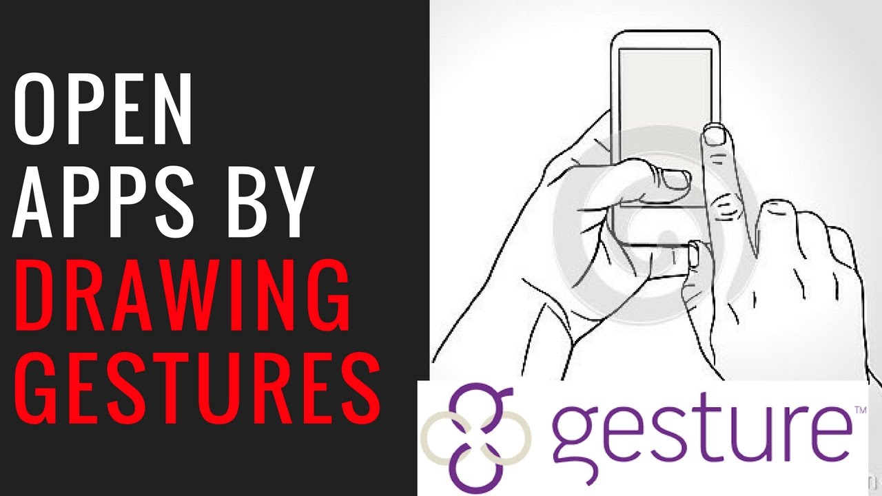How To Open Mobile Apps By Drawing Gestures  Gesture Control apk👈