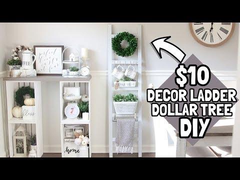 $10 DIY LADDER | DOLLAR TREE DIY | HOME DEPOT DIY