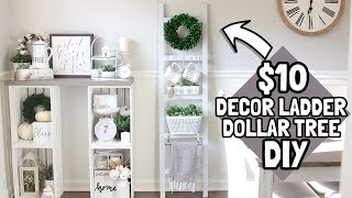 $10 DIY LADDER | DOLLAR TREE DIY | HOME DEPOT DIY