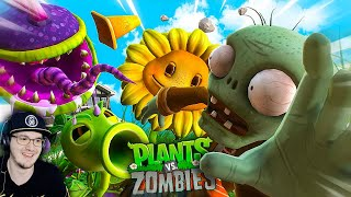 ЗАРУБА НА ОГОРОДЕ (Plants vs Zombies) ► Зомби Против Растений Хумас | Реакция