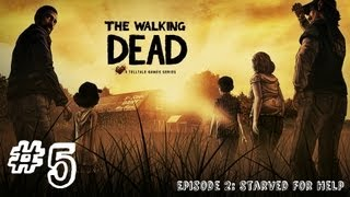 The Walking Dead - Episode 2 - Gameplay Walkthrough - Part 5 - THE ELECTRIC FENCE (Xbox 360/PS3/PC)