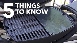 Weber Q Griddle: 5 Things to Know
