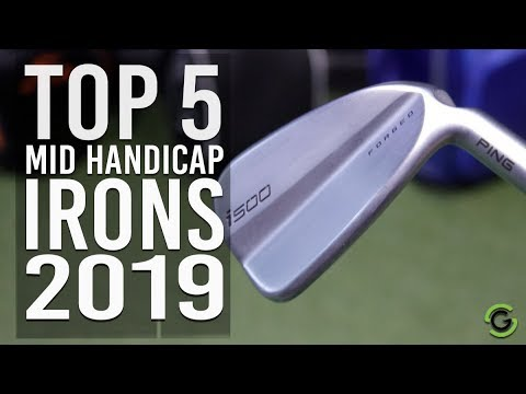 Best Golf Irons For Mid Handicapper 2019 TOP 5 MID HANDICAP IRONS 2019   YouTube