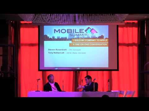 One on One with Steven Rosenblatt, CRO of Foursquare - Mobile Media Summit 2012 - NY During AD Week
