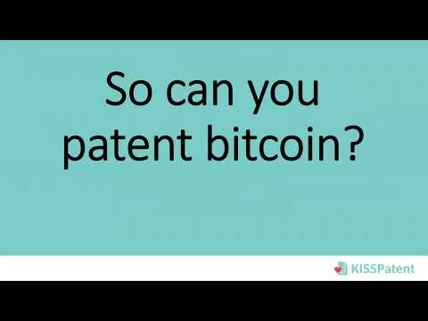 Webinar: Can you patent bitcoin? Learn how to protect your blockchain idea!
