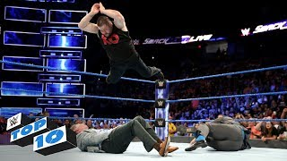 Top 10 SmackDown LIVE moments WWE Top 10 September 12 2017