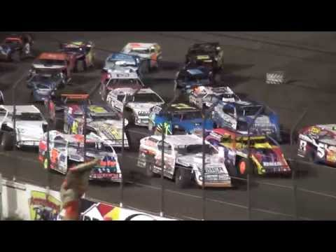 4th Annual Fall Extravaganza Night 2 / IMCA Modified feature Lee County Speedway 10/10/15
