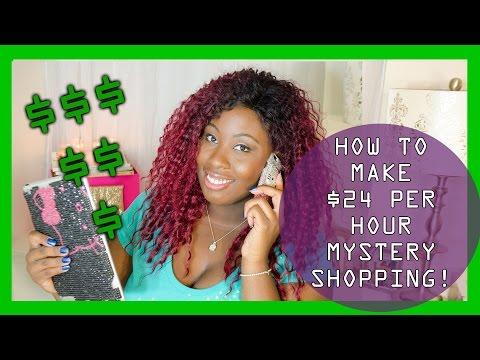 HOW TO MAKE $24 PER HOUR AT HOME MYSTERY SHOPPING! | #SAVEWITHSHEILA