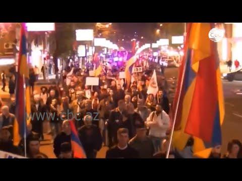 Антироссийская акция в Ереване