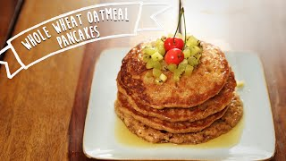 Egg Less Wholewheat Oatmeal Pancakes Recipe | Kiddie's Corner With Anushruti