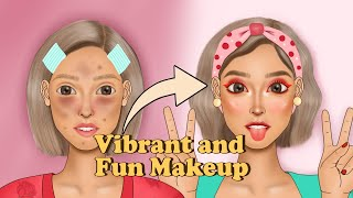 Makeup for Party | Vibrant and Fun Makeup for Party Animation | Ondong