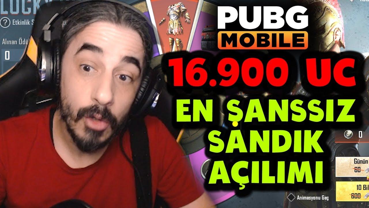 OHA BE !! EN ŞANSSIZ SANDIK AÇILIMI - PUBG Mobile