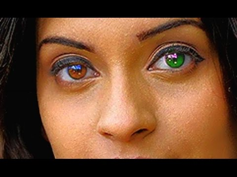 ASIANS WITH DIFFERENT COLOURED EYES - YouTube