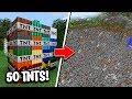 Minecraft: TESTANDO 50 NOVAS TNTS NO MINECRAFT! VOCÊ NÃO VAI ACREDITAR NO RESULTADO!
