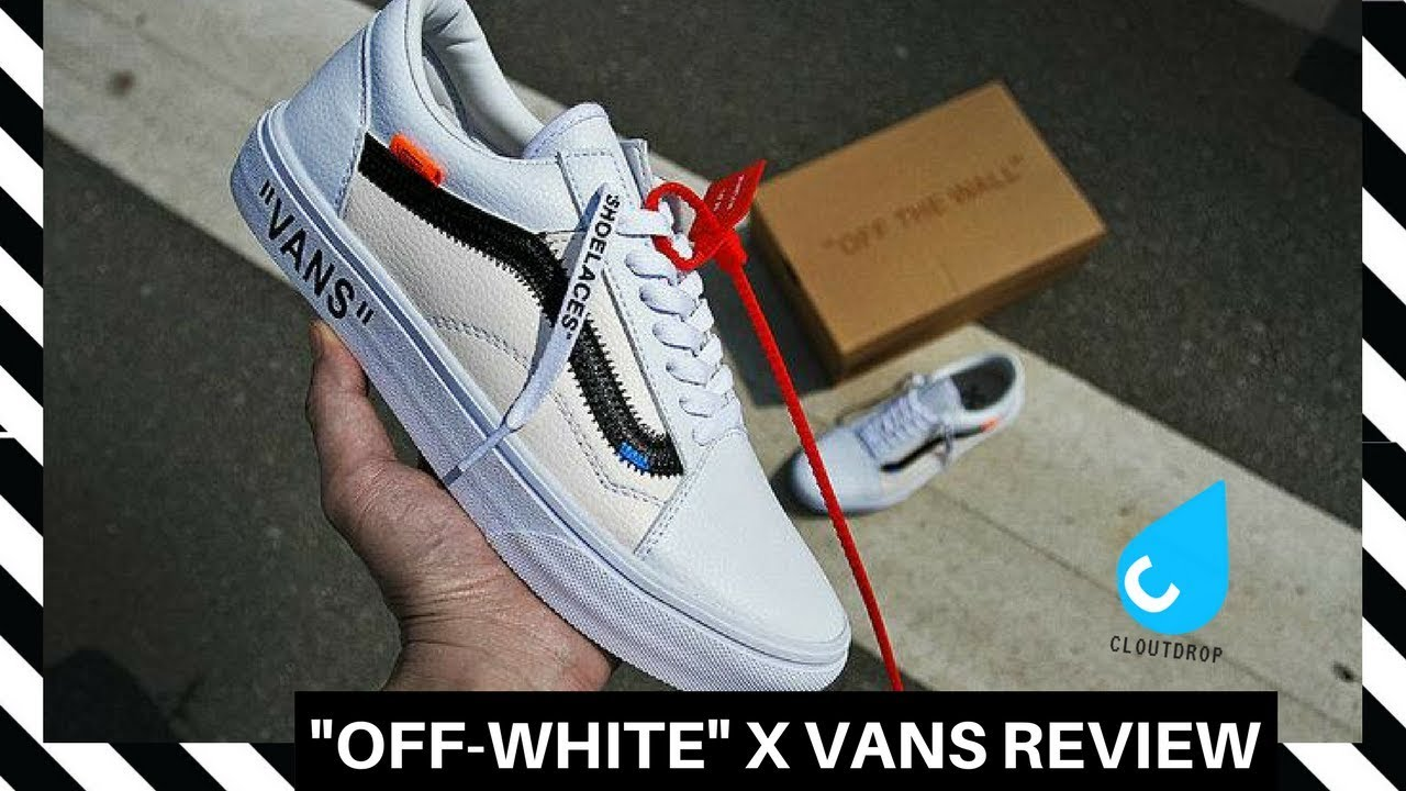 VIRGIL OFF WHITE Custom Vans Review From Cloutdrop