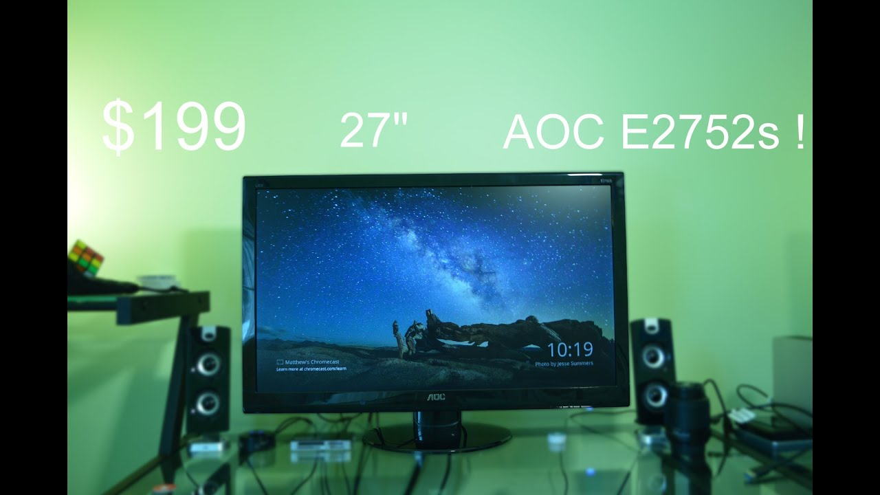 Affordable 27 Monitor Aoc E2752s Review Doovi
