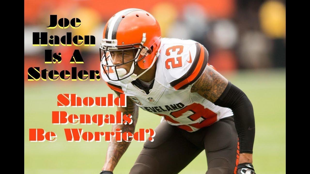 Steelers Joe Haden Should Bengals be worried