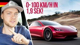 Tesla ROADSTER 2 - Die Zukunft der Hypercars?