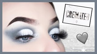Cremated Palette Tutorial | Grey & White Cut Crease